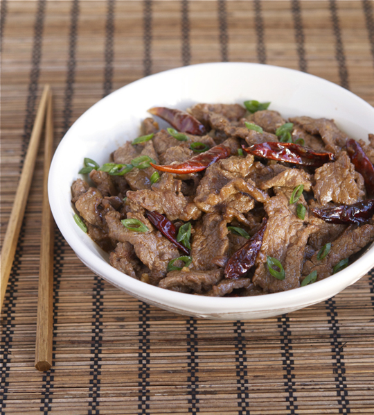 Spicy Hunan Beef with Cumin |