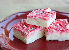Vanilla Peppermint Fudge | Free Recipe Network