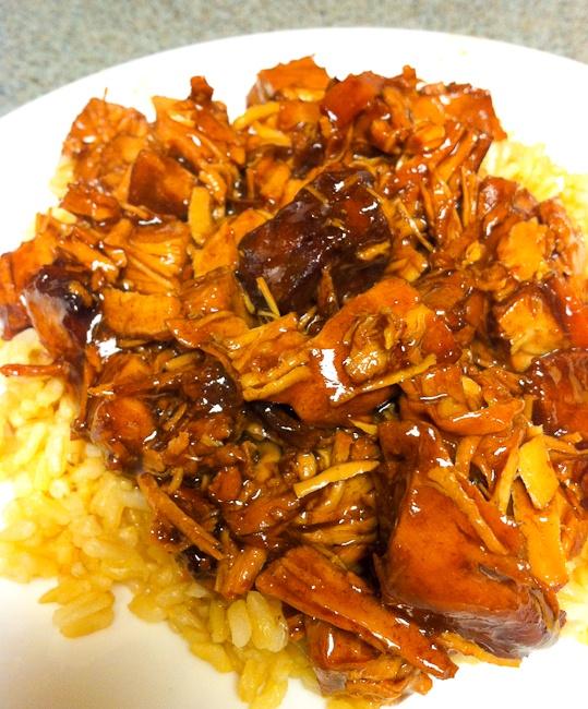 Crock Pot Style Bourbon Chicken | Free Recipe Network