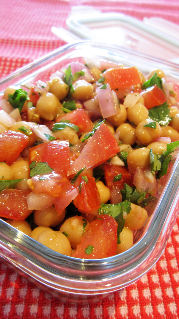 Mexican Chickpea Salad   Free Recipe Network