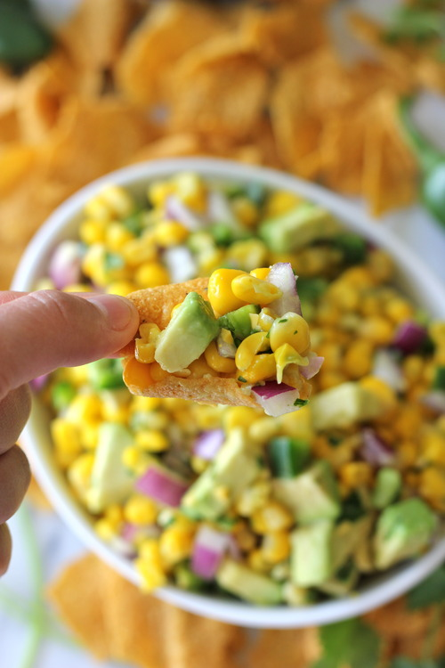 Avocado Corn Salsa | Free Recipe Network