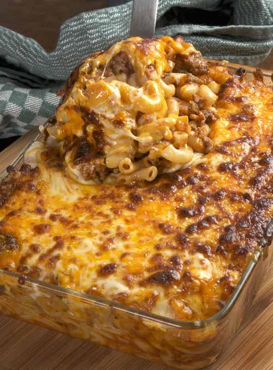 Cheesy Beef and Macaroni | Free Recipe Network