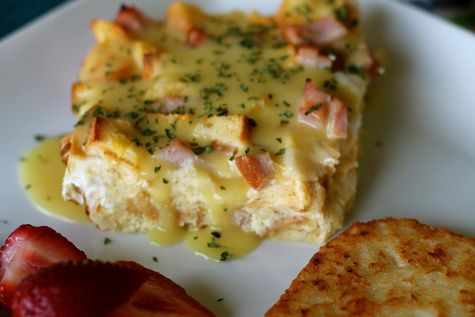 Eggs Benedict Casserole | Free Recipe Network