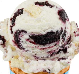 Blueberry Cheesecake Ice Cream |
