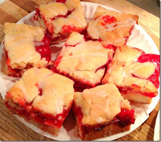 Cherry Pie Bars | Free Recipe Network