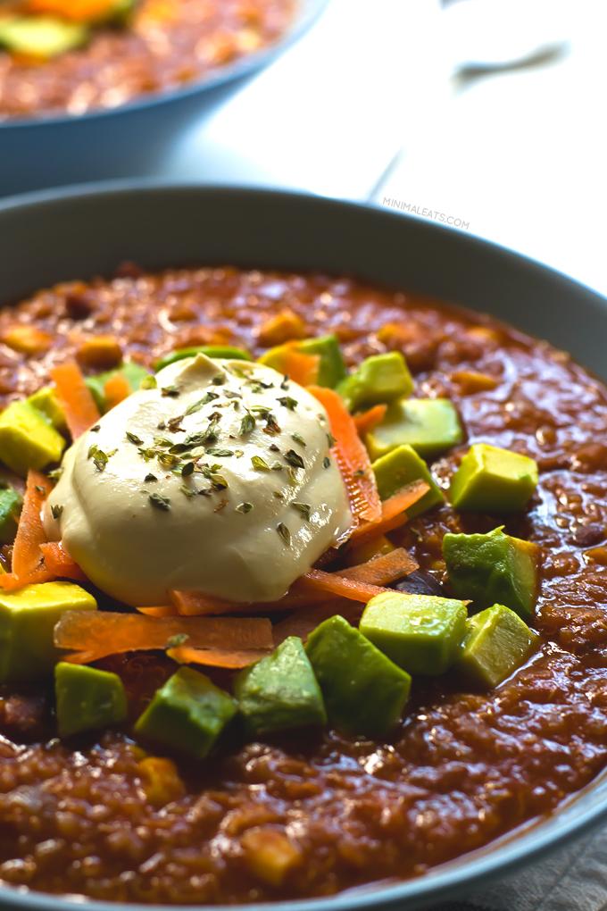 Vegan Quinoa Chili | Free Recipe Network