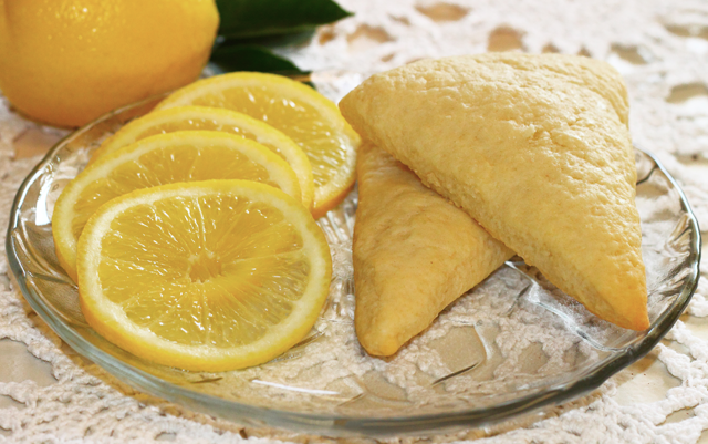 Lemon Yogurt Scones