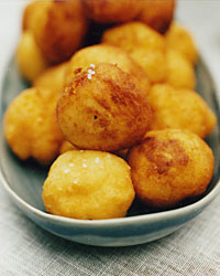 Crispy Creamy Potato Puffs