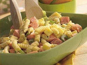 Ham & Smoked Gouda Pasta Salad