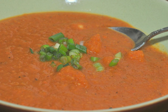 Sweet & Spicy Peanut Soup