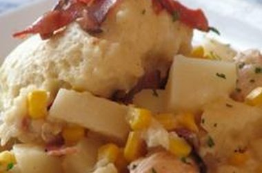Bacon Chicken and Dumplings