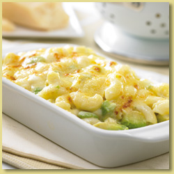 Avocado and Macaroni and Cheese