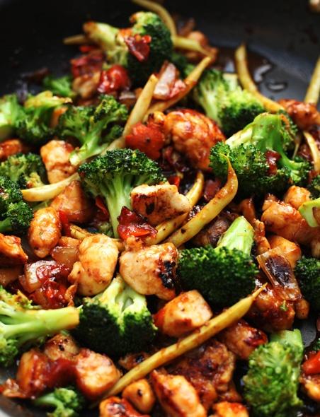 Orange Chicken Vegetable Stir-Fry