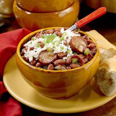 Crockpot New Orleans Red Beans and Rice