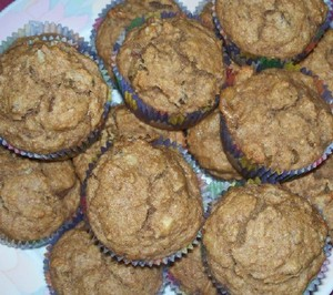 Winter Squash Banana Muffins