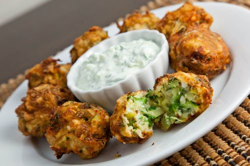 Greek Zucchini and Feta Balls