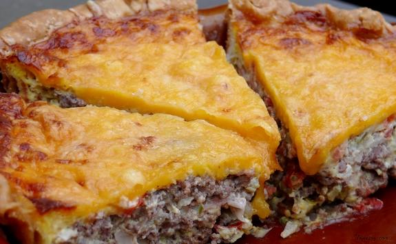 Cheeseburger Quiche