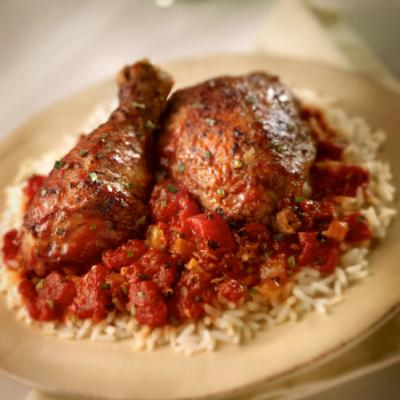 Greek-Style Stewed Chicken