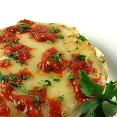 Baked Portobello Parmesan