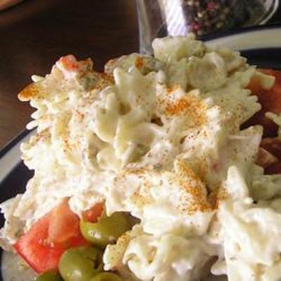Ranch Chicken Macaroni Salad
