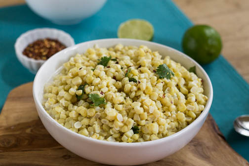 Coconut Creamed Corn
