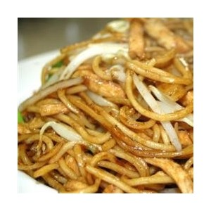 Spicy Chicken Chow Mein Noodles