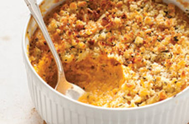 Sweet Potato & Sage Butter Casserole