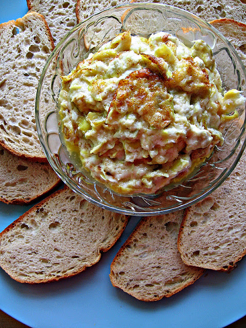 Asiago and Artichoke Dip