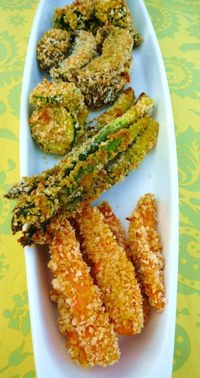 Baked Tempura Vegetables