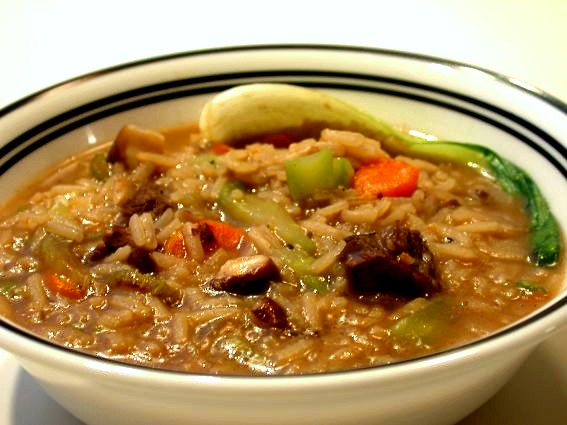 Beef and Rice Soup