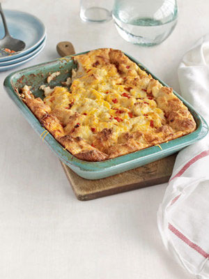 Egg & Cheese Souffle Casserole