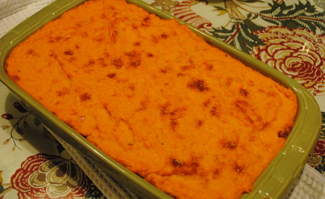 Sweet Potato Turkey Shepherds Pie