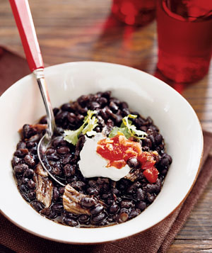 Crockpot Pork and Black Bean Soup