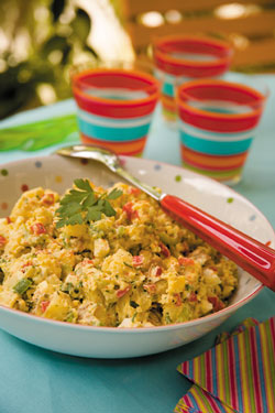 Potato Salad with a Creole Touch