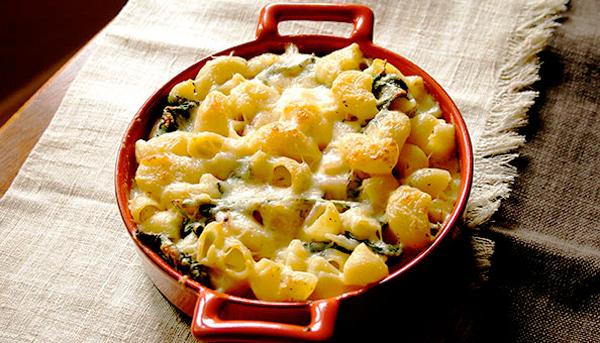Italian Style Macaroni & Cheese Casserole