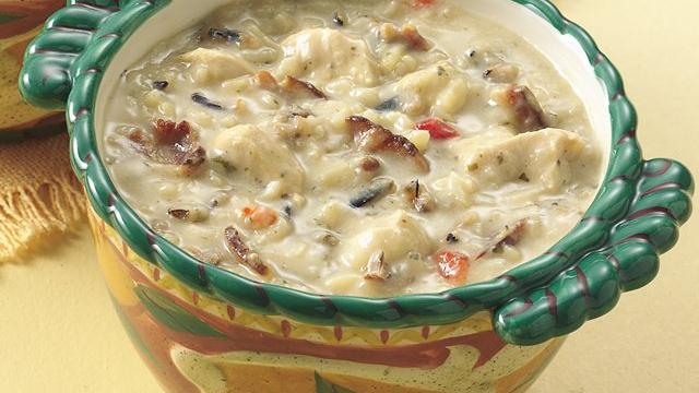 Chicken Bacon Wild Rice Soup Free Recipe Network