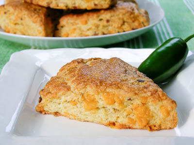 Cheddar Bacon Buttermilk Scones
