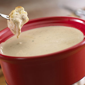 Two Cheese and Honey Fondue