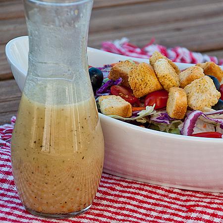 Red Onion Salad Dressing