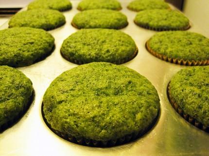 Spinach Cake Muffins