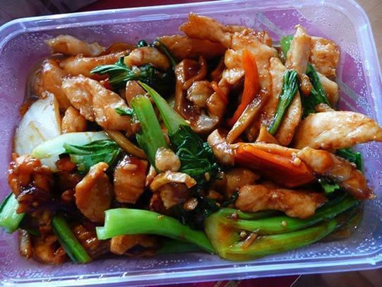 Garlic Chicken with Vegetables
