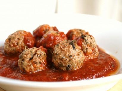 Spinach Stuff Meatballs