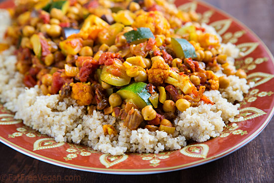 Chickpea & Vegetable Curry
