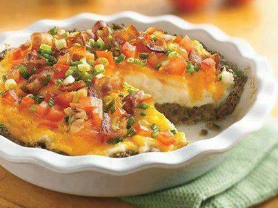 Loaded Baked Potato Shepherds Pie