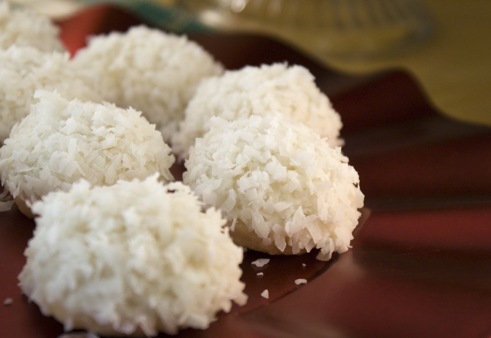 Cream Cheese Coconut Snowball's