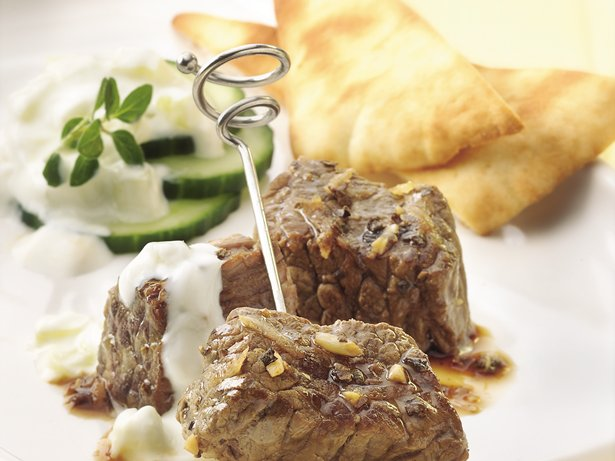 Greek Beef Bites