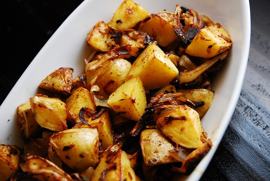 Onion Roasted Potatoes Free Recipe Network