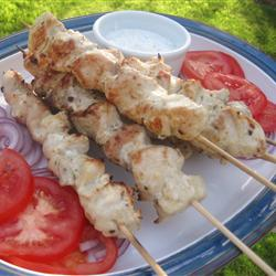 Greek Chicken with Tzatziki Sauce