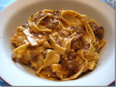 Beef & Noodles
