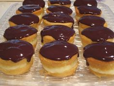 Bite Sized Boston Cream